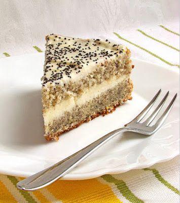 Маково-творожный диетический торт...