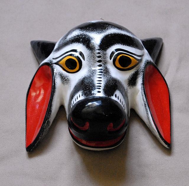 Zebu Cow Mask by Teyacapan, via Flickr