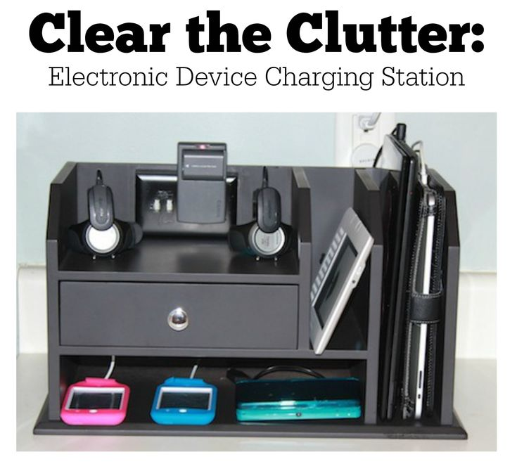 A few simple hacks creates a charging station that solves all your charging and cord needs.  Plug in your iPhone or other smart phone, iPad, iPod, Kindle, Gameboy, Fit Bit, and Garmins into this and make your clutter disappear.