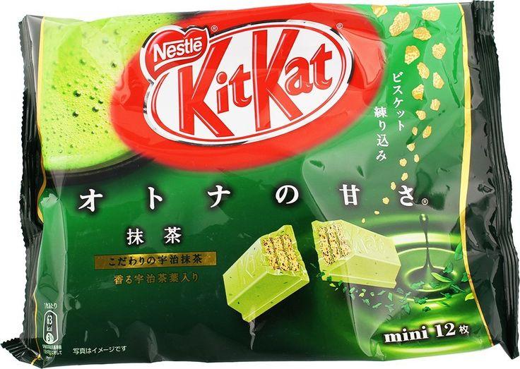 Japanese Kit Kat - Maccha Green Tea Bag. Delicious!