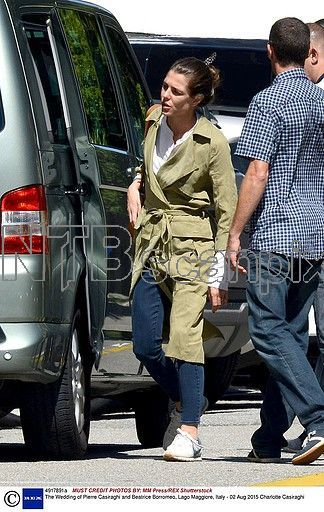 Charlotte Casiraghi's trench - any idea of the brand?