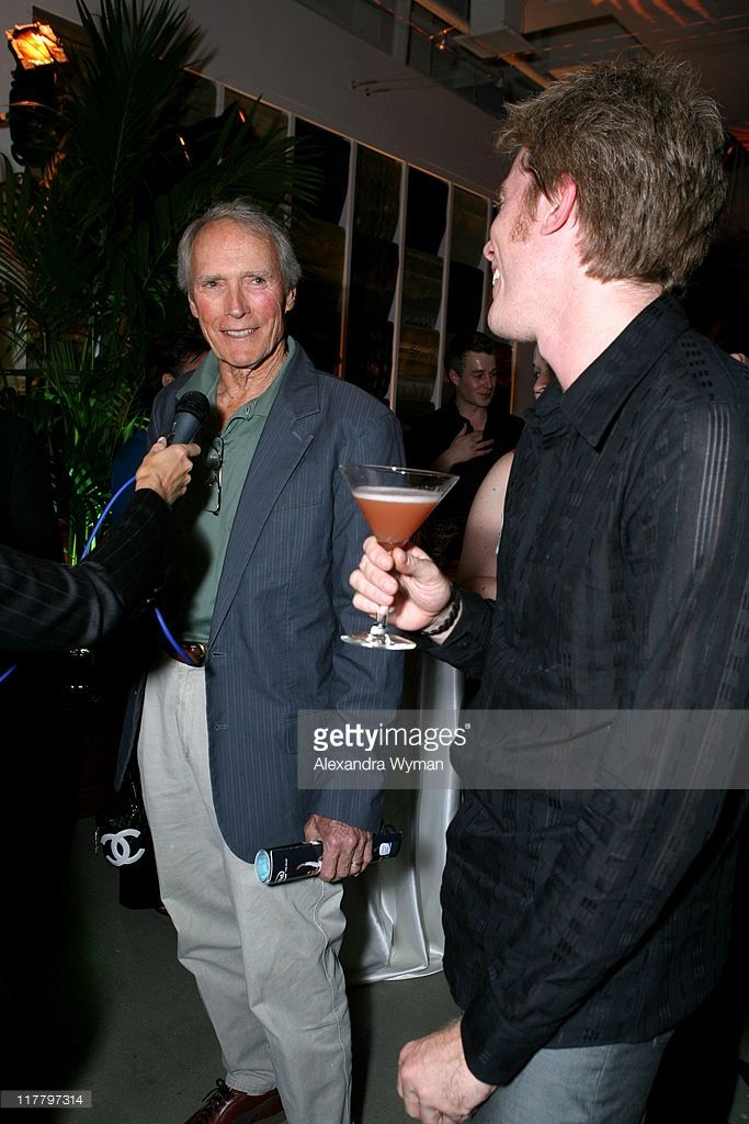 Clint Eastwood and Kyle Eastwood during Hennessy Paradis and Rendezvous Entertainment Host the Release of Kyle Eastwood's Now in Los Angeles, California, United States.