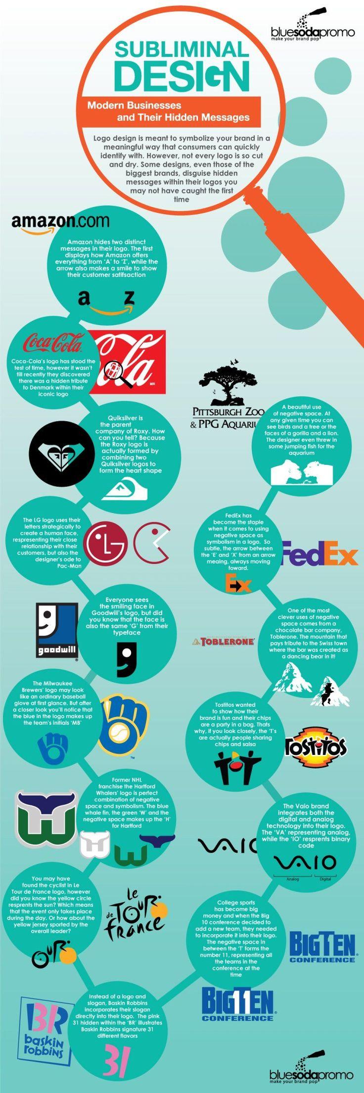 Logotipos con mensajes subliminales