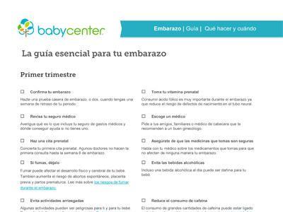 Guía esencial para tu embarazo: segundo trimestre - BabyCenter