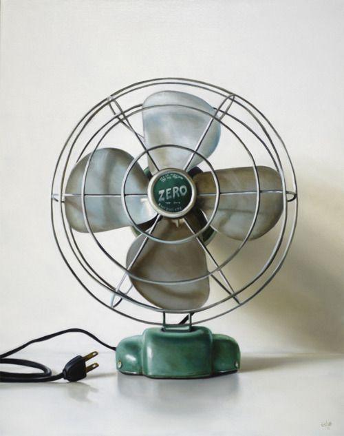 love these little,vintage fans