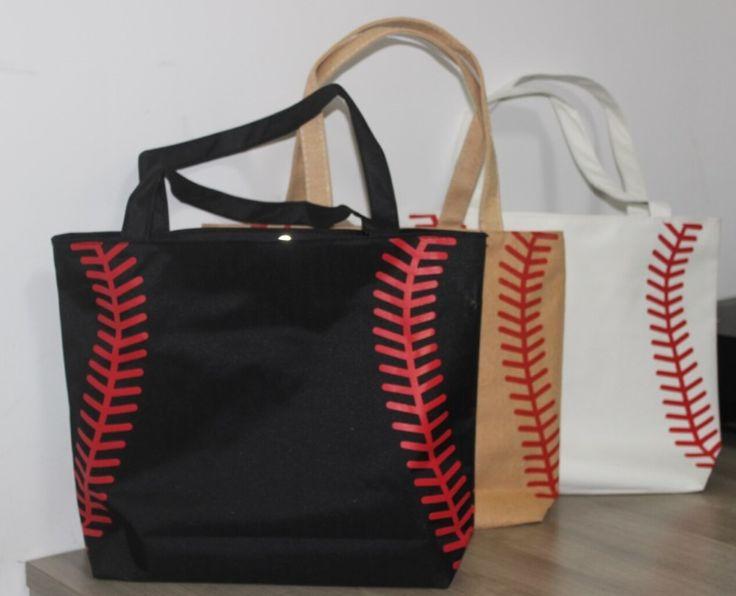 hot 3 colors small baseballl cycling Lady Canvas Bag Shoulder baseball bag Women's Handbag Cute Canva Tote Bag basketball bag