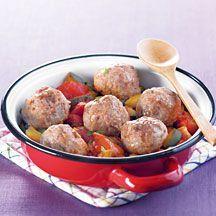 WeightWatchers.fr : recette Weight Watchers - Boulettes de viande à la marocaine