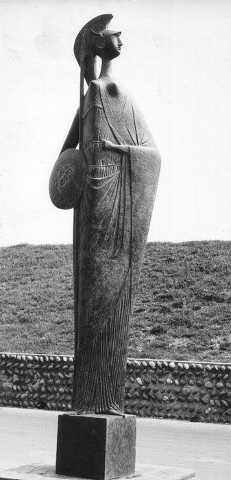 Marcello Mascherini :: Minerva (1954); Zuiderstrasse, Anversa, Belgio