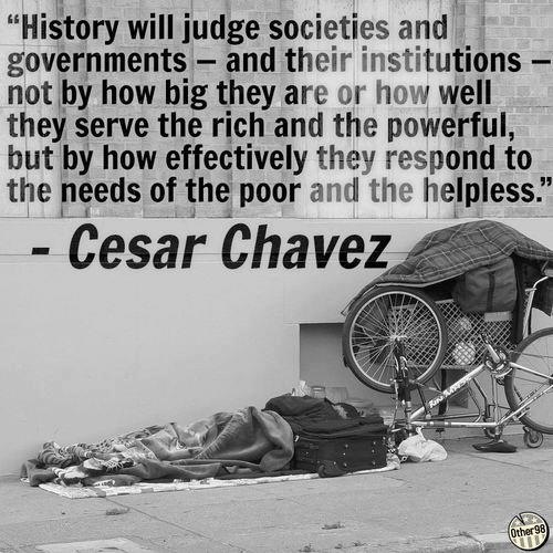 Cesar Chavez - another great quote, happy they are finally making a movie about him.