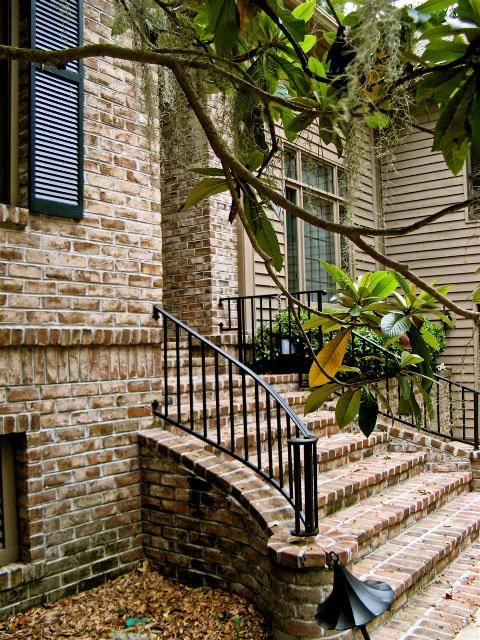Low Country Handmade Brick Steps