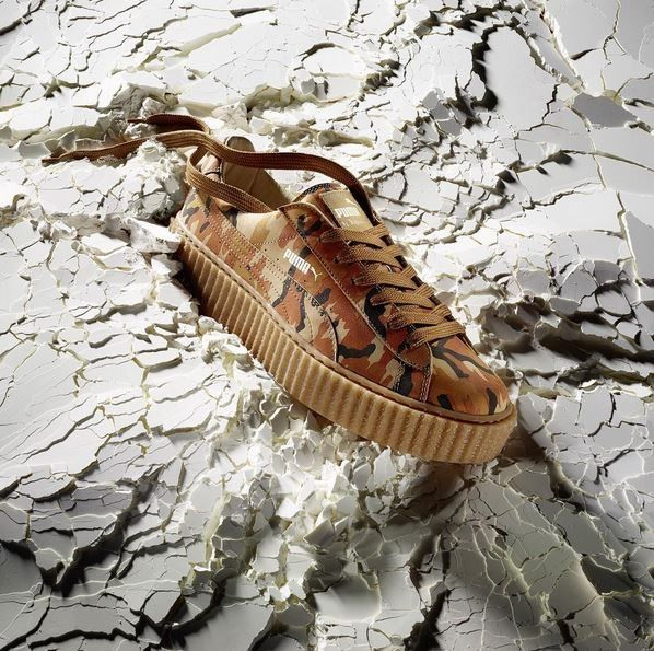 Sneaker é um dos grandes hits da colaboração da cantora com a marca esportiva