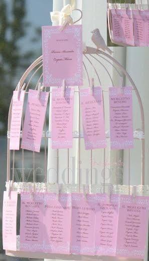 Tableau de mariage. Mode, tendenze e tante idee per accompagnare gli invitati a tavola Foto by Di Fiore Fotografi