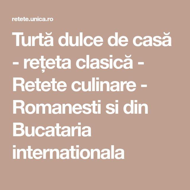 Turtă dulce de casă - rețeta clasică - Retete culinare - Romanesti si din Bucataria internationala