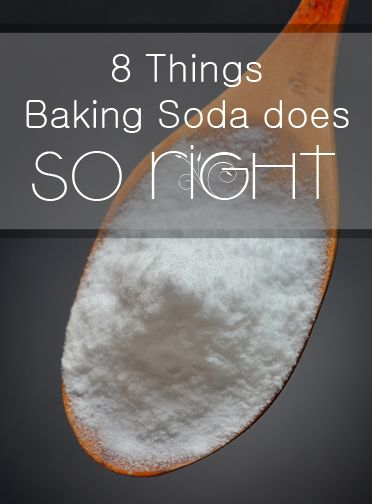 8 Things Baking Soda does SO RIGHT