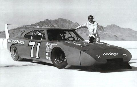 Bonneville Salt Flat Cars - Bing Images  1969 Dodge Charger Daytona 426 Hemi-Powered Bonneville Salt Flats Speed Record, Driven by Bobby Isaac BW