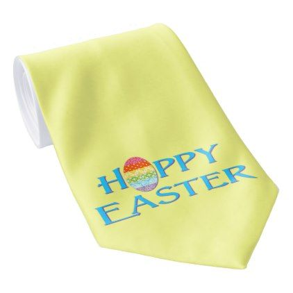 Happy Easter Egg Tie - happy easter egg holiday family diy custom personalize