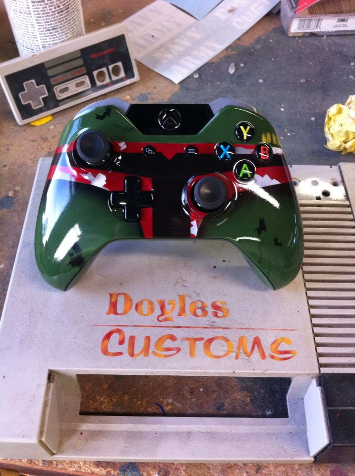 Boba Fett Custom xbox one controller