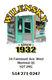 Wilensky's - A relic that still makes the best, simplest sandwiches in the city: beef bologna, salami, cheese, and mustard on a toasted bun with a side of kernatzel (kosher dried beef sticks, aka Jewish Quebec's answer to pepperoni sticks). No substitutions or tips allowed. #Montreal