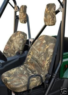 Yamaha Rhino 450 660 700 UTV Easy Fit Seat Covers Set Camo with Headrest Covers $42.95  Classic Accessories Quad Gear Extreme Quick Fit Seat Covers for the Yamaha Rhino UTV - Hardwoods Camo - Part # 78353-SC  Visit us at:    http://stores.ebay.com/Advantage-Distributing  or  www.advantagedistributing.com