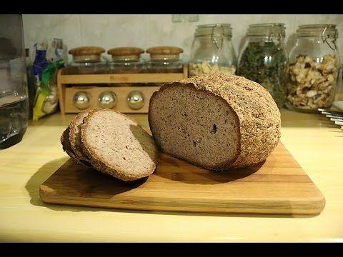 Chleb bezglutenowy z ziołami - YouTube