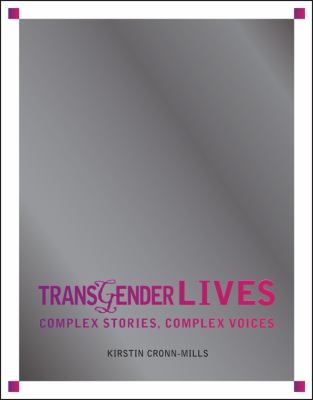 Meet Katie, Hayden, Dean, Brooke, David, Julia, and Natasha. Each is transgender, and in this book, they share their personal stories. Through their narratives, you'll get to know and love each person for their humor, intelligence, perseverance, and passion. You'll learn how they each came to better understand, accept, and express their gender identities, and you'll follow them through the sorrows and successes of their personal journeys. Transgender Lives helps you understand what it means…