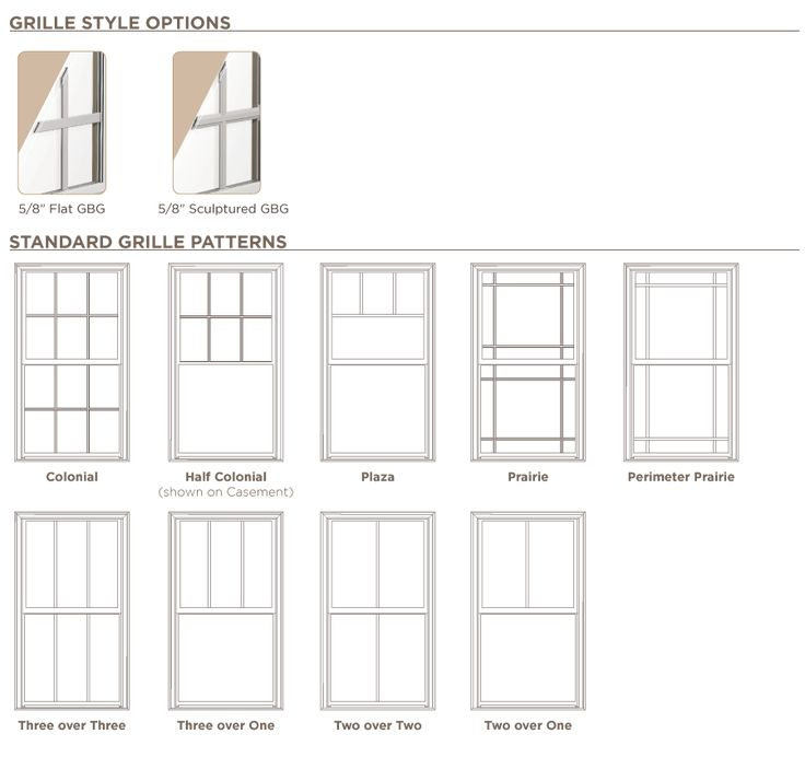 400 single hung window grilles specification