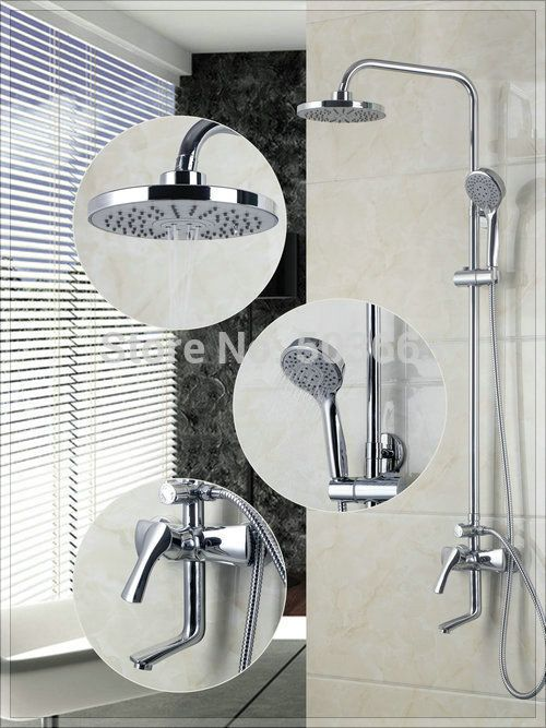shower and sink faucet sets. Cheap mixer hair  Buy Quality faucet buyer directly from China shower Suppliers antique Shower Set Torneira Chuveiro High 8 inch Head 172 best Upstairs Bathroom images on Pinterest