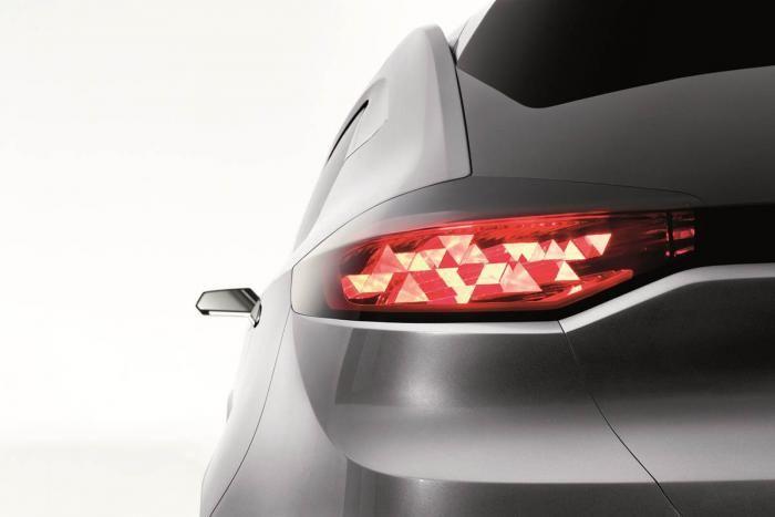 MG CS rear light