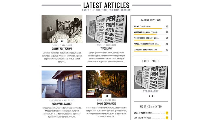 SimpleMag - WordPress Magazine Theme - #wordpress #theme #template #magazine #webdesign #modern #creative
