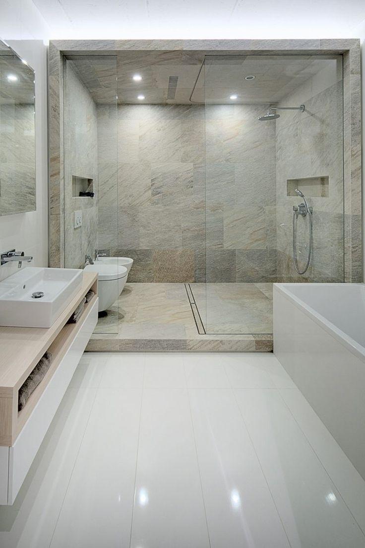 Les 25 meilleures id es concernant salles de bains de luxe sur pinterest sa - Salles de bain moderne ...