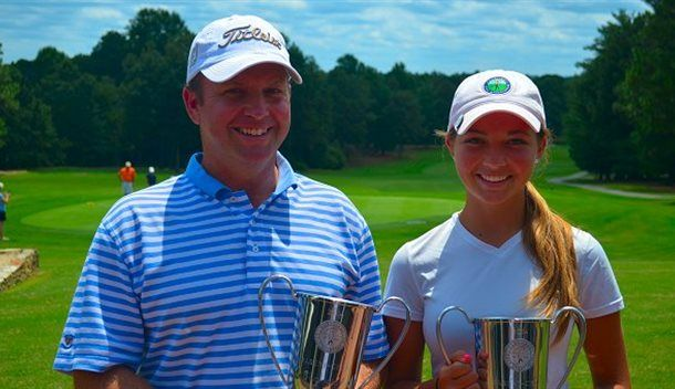 17th Carolinas Parent-Child Championship Final Results from Seven Lakes Country Club in Seven Lakes, NC - http://www.beachcarolina.com/2014/07/26/17th-carolinas-parent-child-championship-final-results-from-seven-lakes-country-club-in-seven-lakes-nc/ SEVEN LAKES, NC July 25, 2014 – Final results of the 17th Carolinas Parent-Child Championship of the Carolinas Golf Association hosted by Seven Lakes Country Club in Seven Lakes, NC on Friday, July 25, 2014 (Par 36-36—72, Mal