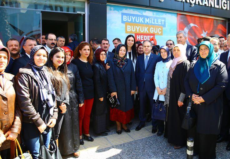 Ak Parti Milletvekili adaylarımızla birlikte Canik ilçe başkanlığımızı ziyaret edip, yönetim kurulu ile sohbet ettik.