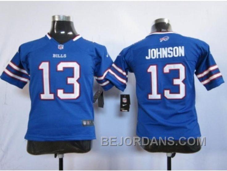 http://www.bejordans.com/free-shipping-60-off-nike-youth-nfl-jerseys-buffalo-bills-13-johnson-blue.html FREE SHIPPING ! 60% OFF! NIKE YOUTH NFL JERSEYS BUFFALO BILLS #13 JOHNSON BLUE Only $20.00 , Free Shipping!