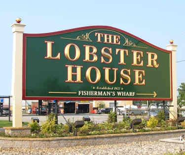 The Lobster House ~ Cape May, NJ  Yum:  Flounder Francaise order with the very best Stewed Tomatoes!!!