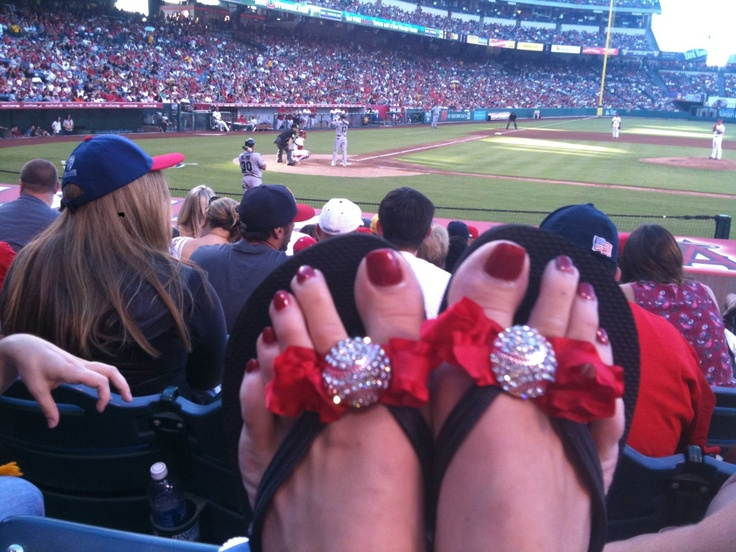 baseball flip flops: Baseball Mom, Baseball Crafts, Crafts Ideas, Softball Baseball And T Ball, Flip Flops, Baseball Flip, Crazy Baseball, Francie Feet, Bad Girls