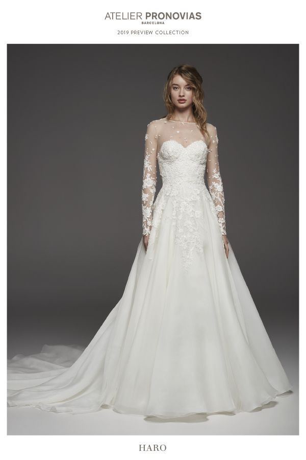 b261128f3789 Discover the 2019 ATELIER PRONOVIAS Preview Collection!