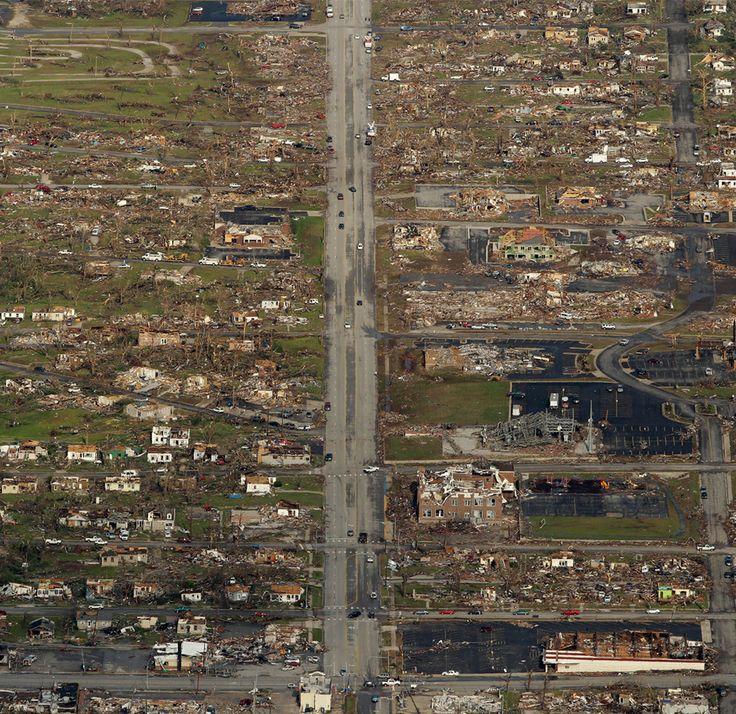 joplin tornado | Tornado-Damaged Joplin, From Above