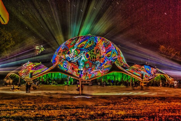 Ozora festival 2013 Dom projection by Night Projection #ozora #ozorafestival #ozorafestival2013 #nightprojection #raypainting #visual