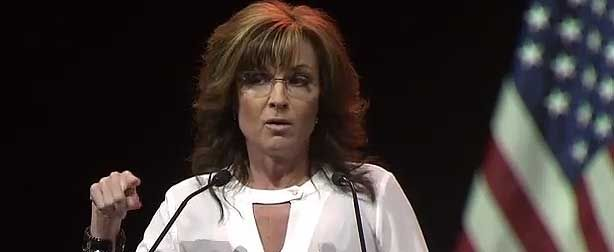 SARAH PALIN EDUCATES ERIC HOLDER. NRA SPEECH AND THE SECOND AMENDMENT