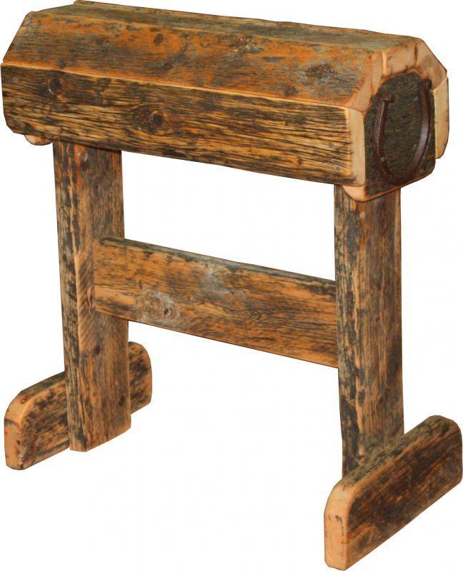 Barnwood Saddle Stand - Durango Trail Rustic Furniture, Bragg Creek,  Calgary, Alberta,