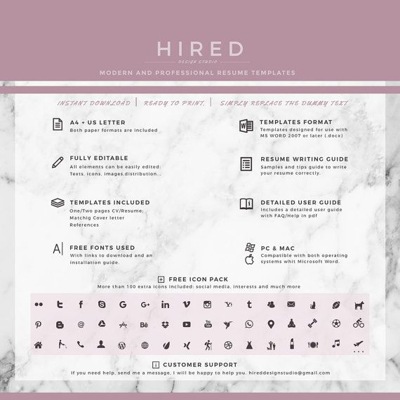 Best Modern Resume Templates Images On   For M