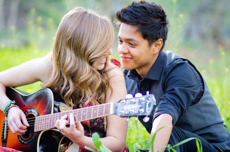 guitarra humor amor chico chica guitarras