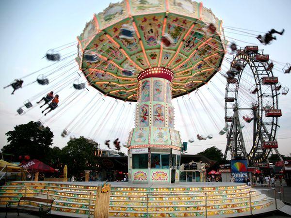 vienna prater amusement park - Google Search