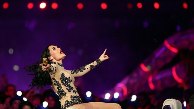 British singer Jessie J performs during the Closing Ceremony on Day 16 of the London 2012 Olympic Games at Olympic Stadium on August 12, 2012 in London, England.