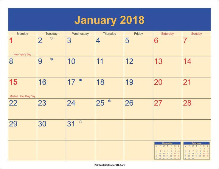 Best 25+ Blank monthly calendar template ideas on Pinterest Free - attendance calendar template