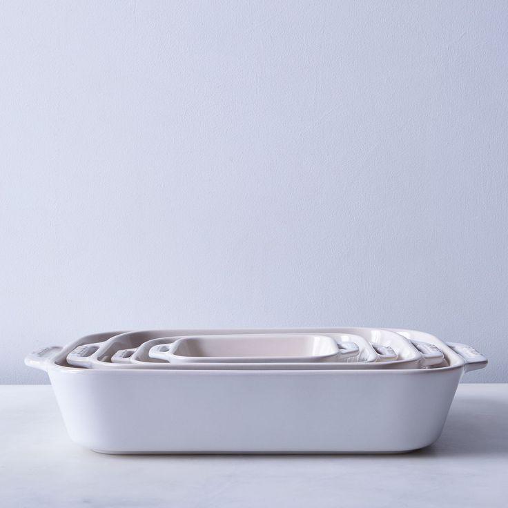 Staub Ivory Rustic Ceramic Rectangular Baking Dishes on Food52