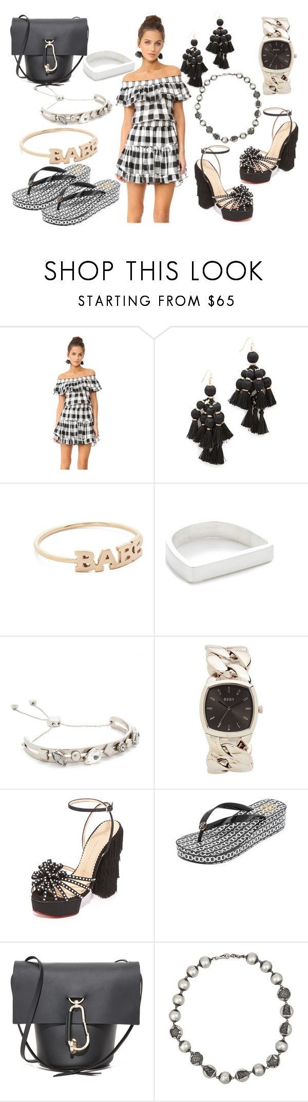 """BABE"" by hillarymaguire ❤ liked on Polyvore featuring Misa, Kate Spade, ZoÃ« Chicco, Maya Magal, Marc Jacobs, DKNY, Charlotte Olympia, Tory Burch, ZAC Zac Posen and Bottega Veneta"