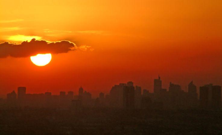 Makati Skyline Sunset - Makati City, Manila