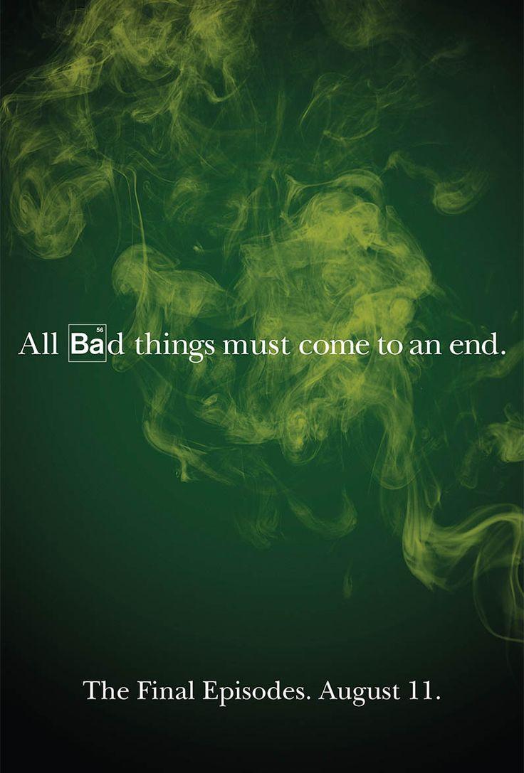 Walter white green apron - Final Episode Breaking Bad Poster