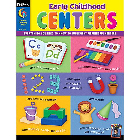 Creative Teaching Press® Early Childhood: Centers, Grades PreK-K